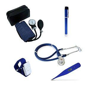 Kit Enfermagem Acadêmico Azul