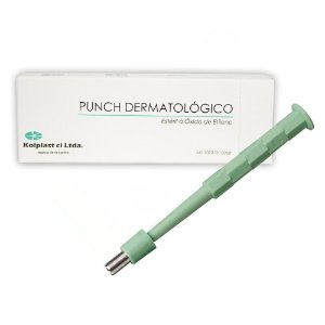 Punch Dermatológico 5mm Estéril Caixa C/ 5 Un. Kolplast