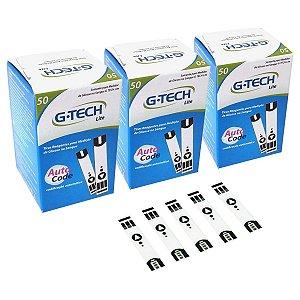 Tiras para Medição de Glicose 100 Un. + 50 Grátis P/ Aparelho LITE G-Tech