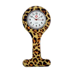 Relógio para Lapela Silicone Onçinha Supermedy