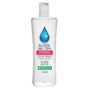 Álcool Gel 70% 280mL MASS DOCTOR Natuphitos