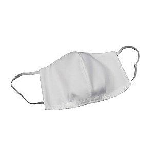 Máscara em Tecido Dupla Face Branco Unidade NHC