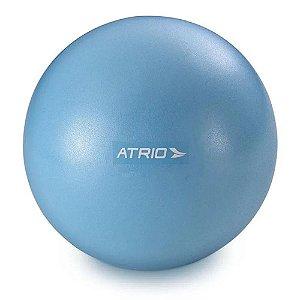 Mini Bola Fitness 20cm para Exercícios Azul ES238 Atrio