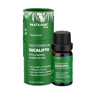 Óleo Essencial de Eucalipto - Purificar 10mL HC128 Multilaser