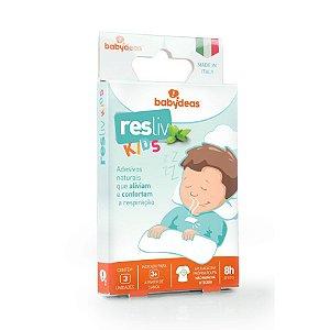 Resliv Kids Adesivo para Alívio e Conforto Nasal Babydeas