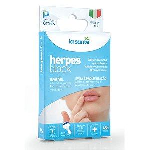 Herpes Block Adesivos para Herpes labial La Santé