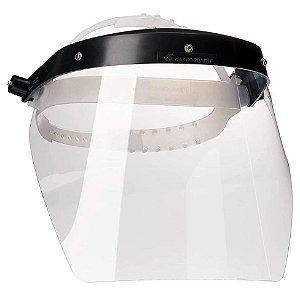 Protetor Facial Profissional Incolor 200mm Carbografite