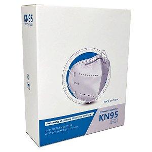 Máscara Proteção Respiratória KN95/PFF-2 CX c/10un. Multilaser