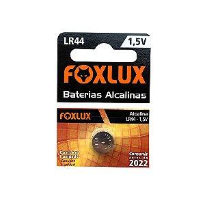 Bateria LR44 1,5V Alcalina c/1 Unidade FOXLUX