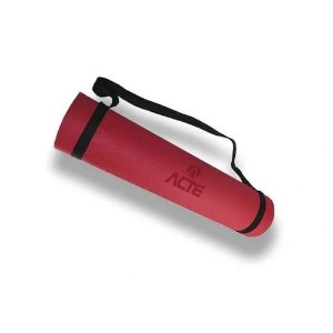 Tapete Yoga Mat 170x60cm EVA Vermelho Acte