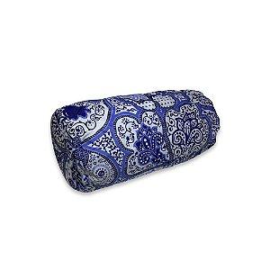 Rolo Soneca 40 x 20cm c/ Capa Mandala Azul NHC
