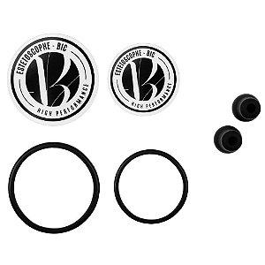 Kit Acessórios Olivas + Diafragmas + Anéis para Estetoscópio BIC