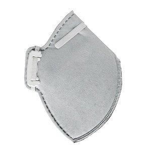 Máscara Respirador Desc. PFF2 S Carvão Ativado CG431 Carbografite