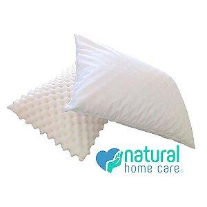 Travesseiro c/Fronha Anti-Ácaro 0,63x0,45m NHC