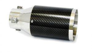 Ponteira em Aço Inox e Fibra de Carbono Luzian - P001