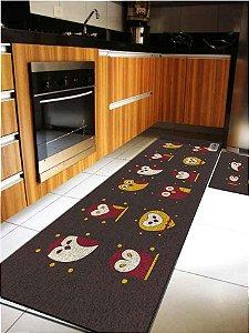 Kit Cozinha Corujas