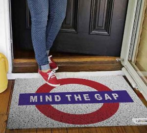 Tapete Mind The Gap