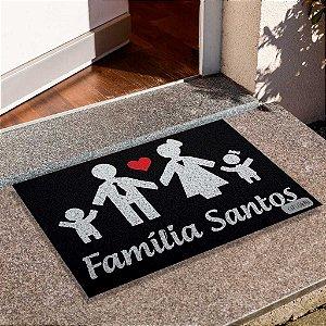 Capacho Família Personalizado