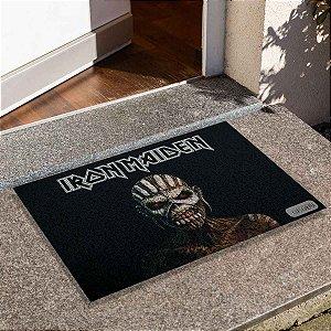 Capacho Iron Maiden The Book Of Souls Aplicado