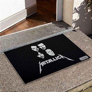 Capacho Metallica Rostos