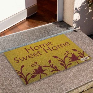 Capacho Home Sweet Home Floral
