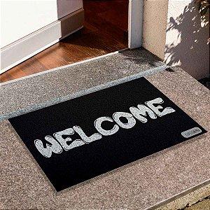 Capacho Frase Welcome