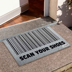 Capacho Scan Your Shoes