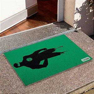 Capacho Lanterna Verde Silhueta