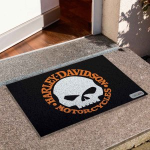 Capacho Skull Harley Davidson 1