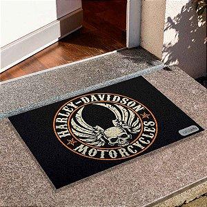 Capacho Skull Harley Davidson 2