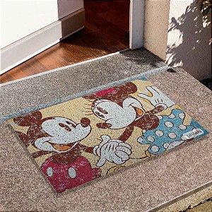 Capacho Mickey E Minnie Vintage
