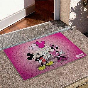 Capacho Mickey E Minnie Balões