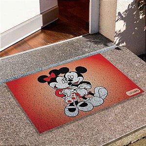 Capacho Mickey E Minnie Romance