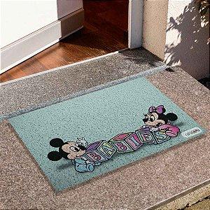 Capacho Mickey E Minnie Babies