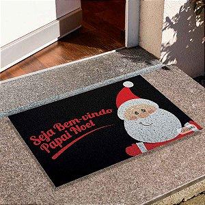 Capacho Seja Bem Vindo Papai Noel