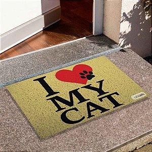 Capacho I Love My Cat