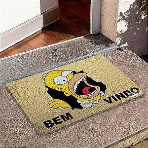 Capacho Homer Bem Vindo