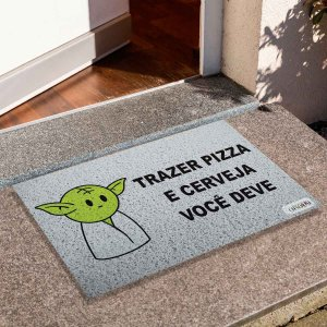 Capacho Yoda Trazer Pizza E Cerveja