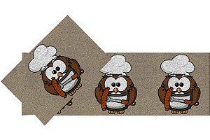 Kit Cozinha  Coruja Chefe