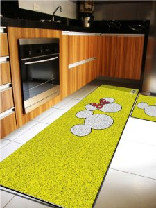 Kit Cozinha  Mickey Amarelo
