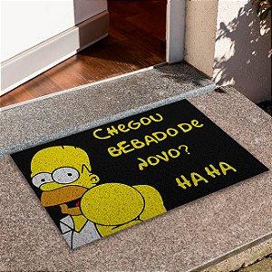 Capacho Chegou Bebado De Novo Homer
