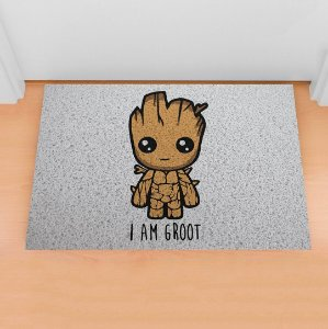 Capacho Eu Sou o Groot