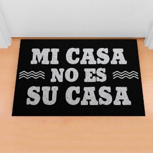 Capacho Mi Casa No Es Su Casa