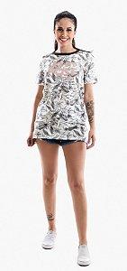 T-Dress Folhagem Tricats