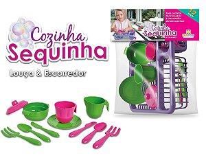 Escorredor de Louças infantil - Cozinha Sequinha - Ref.118 - Diviplast