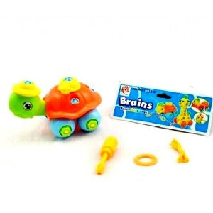 Brinquedo de Montar Educativo - Tartaruga - BA11310