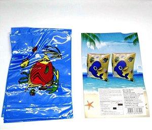 Boia de Braco - Desenho infantil  - cores variadas - BJ1620 - par