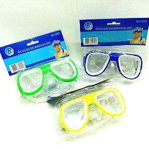 Óculos de Mergulho Infantil - Varias Cores - BJ1605