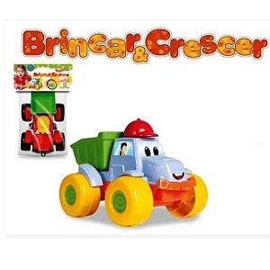 Caminhão Caçamba - BRINCAR E CRESCER - Brinquedo para bebe - Diviplast -116 pex08