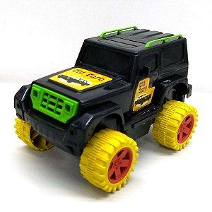 Caminhonete Pickup - Fusca Tunado - Rodao Radical - JEEP offroad - 18 cm -VARIOS MODELOS E CORES -  051 -pex1.3